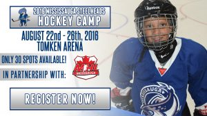 Steelheads hockey camp header
