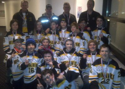 Gold and A divisions – ME060 (Minor Peewee A)