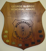George McBride Memorial Award - Referee