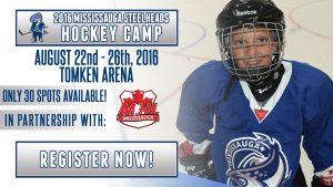 Steelheads hockey camp header