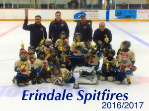 Erindale Spitfires Tyke Select win at Etobicoke