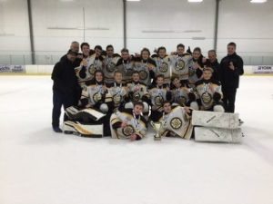 "Meadowvale Hawks Minor Midget ""A"" win at Toronto"