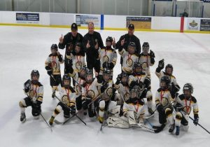 Meadowvale Hawks Minor Novice Gold win at Burlington