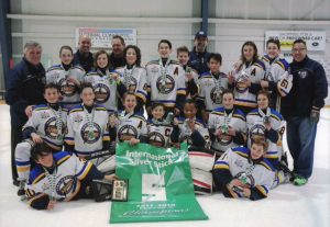 "Port Credit Storm Peewee ""A"" win Regional Silver Stick Championship"