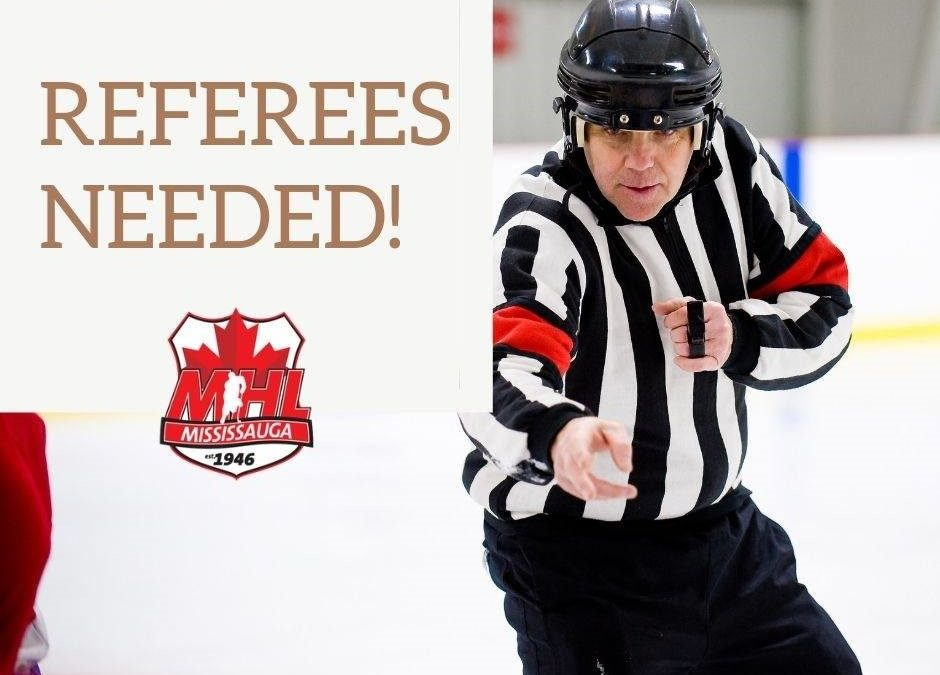 MHL Referees Needed