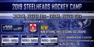 Mississauga Steelheads Hockey Camp 2019